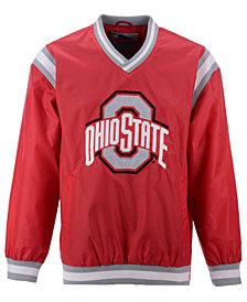 G-III Sports Men's Ohio State Buckeyes Nylon Big Logo Pullover Jacket