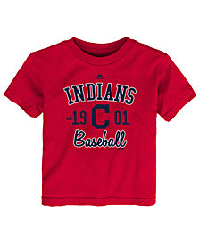 Majestic Cleveland Indians Baseball Script T-Shirt, Toddler Boys (2T-4T)