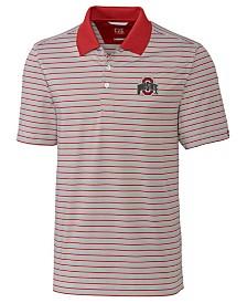 buy popular 2d211 50ea4 Cutter   Buck Men s Ohio State Buckeyes Surge Stripe Polo