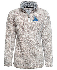 J America Men's Kentucky Wildcats Sherpa Pullover Jacket