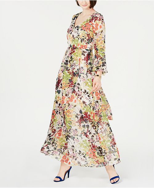 a9cad768138b ... INC International Concepts I.N.C. Floral-Print Maxi Dress, Created for  Macy's ...