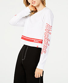 Dickies Cropped Graphic Cotton T-Shirt