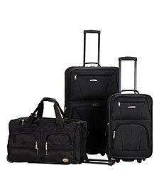 3-Pc. Softside Luggage Set