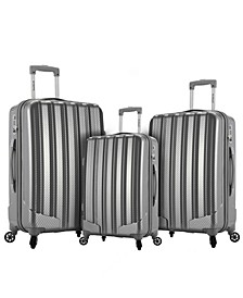 Barcelona 3-Pc. Hardside Luggage Set