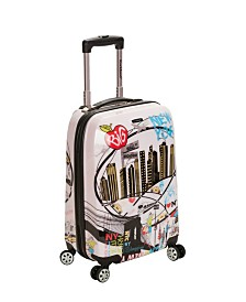"Rockland New York 20"" Hardside Carry-On"