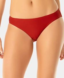 Anne Cole Studio Solid Goddess Ribbed Bikini Bottoms