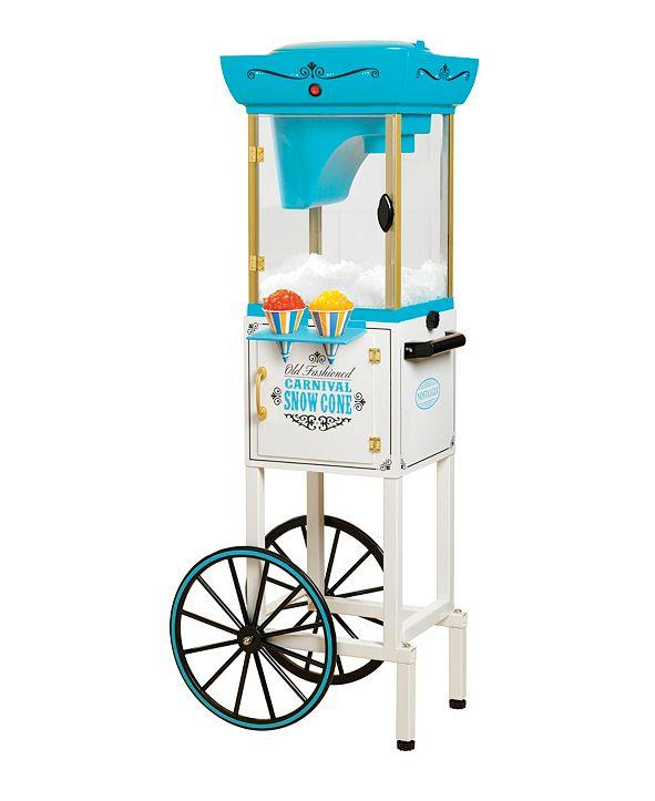 Nostalgia Snow Cone Cart - 48 Inches Tall
