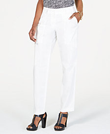MICHAEL Michael Kors Cotton Cargo Pants, Regular & Petite Sizes