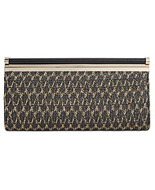 I.N.C. Carolyn Straw Clutch, Created for Macy's