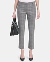 Calvin Klein Petite Modern-Fit Plaid Pants 863ac75fc848