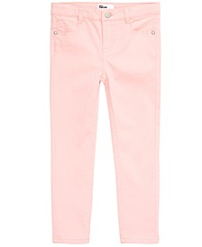 Little Girls Sateen Jeans, Created for Macy's