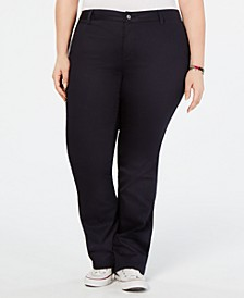 Trendy Plus Size Bootcut Pants