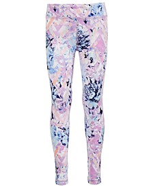 Big Girls Plus Floral-Print Leggings, Created for Macy's