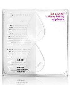 2-Pc. Micro Silicone Beauty Applicator Set