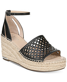 Franco Sarto Calabria Platform-Wedge Espadrille Sandals, Created for Macy's