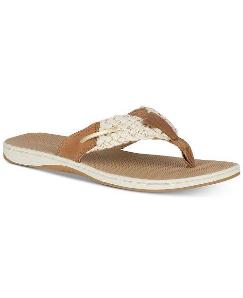 cf6ea9dba077 Sperry Women s Parrotfish Flip-Flop Sandals   Reviews - Sandals ...