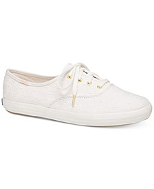 Women's Champion Eyelet Lace-Up Sneakers