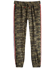 Big Boys Camo-Print Jogger Pants, Created for Macy's