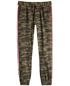 Epic Threads Big Boys Camo-Print Jogger Pants, Created for Macy's