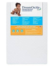 "3"" Portable Crib Mattress"