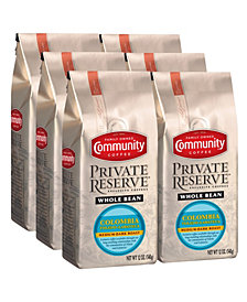 Private Reserve Colombia Toledo-Labateca Medium-Dark Roast Specialty-Grade Whole Bean Coffee, 12 Oz - 6 Pack