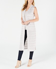 Calvin Klein Loose-Knit Duster