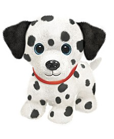 First and Main - Dalmatian Poodle  Plush Dog, 7 Inches Sitting