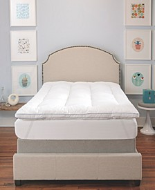 "MemoryLOFT 3"" Gel-Infused Memory Foam and Fiber Full Mattress Topper"