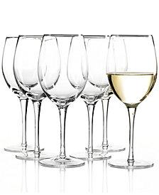 Lenox Tuscany White Wine Glasses 6 Piece Value Set