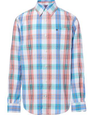 Big Boys Vincent Plaid Shirt