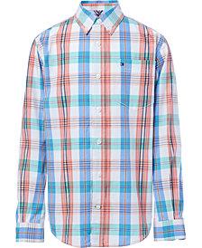 Tommy Hilfiger Big Boys Vincent Plaid Shirt