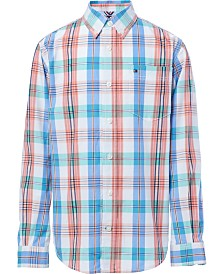 Tommy Hilfiger Little Boys Vincent Plaid Cotton Shirt