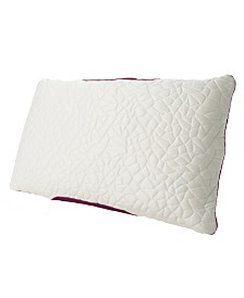 Protect-A-Bed Queen Therm-A-Sleep Snow Memory Foam Hybrid Pillow ft. Nordic Chill Fiber and Tencel Collection