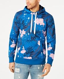 American Rag Men's Pop Regular-Fit Floral Hoodie, Created for Macy's