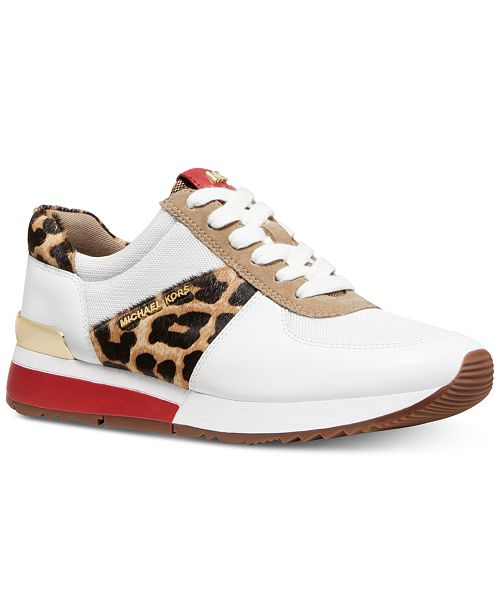 9ebe34835a62 Michael Kors Allie Trainer Sneakers  Michael Kors Allie Trainer Sneakers ...