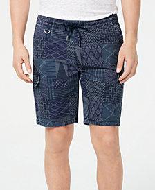 "American Rag Men's Shashiko 9.5"" Pull-On Shorts, Created for Macy's"