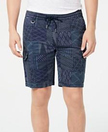 "American Rag Men's Sashiko 9.5"" Pull-On Shorts, Created for Macy's"