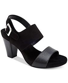 Aikko Memory-Foam Sandals, Created for Macy's