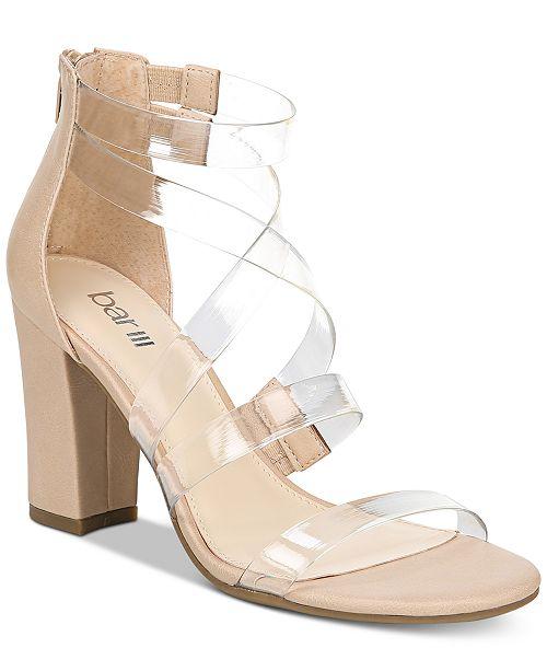 e622a9c539b4 ... Bar III Blythe Strappy Dress Sandals