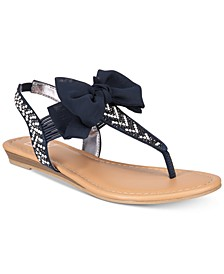 Swan Flat Thong Sandals, Created for Macy's