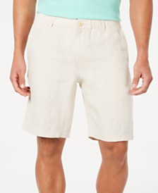 """Tommy Bahama Men's Linen The Good Life Classic Fit 10"""" Shorts"""