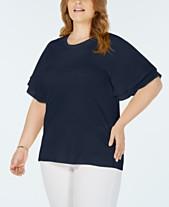 c87ad7b5 Michael Kors Plus Size Dresses & Clothing - Macy's
