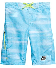 Laguna Big Boys Speed Zone Striped Swim Trunks