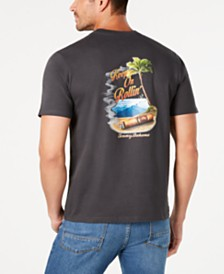 0b250f40aec521 Tommy Bahama Men s Keep on Rollin  Graphic T-Shirt