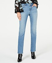 656a7ed35 I.N.C. Curvy Five-Pocket Straight-Leg Jeans, Created for Macy's