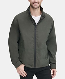 Men's Lightweight Water Resistant Bomber Jacket, Created for Macy's