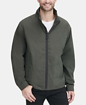 57eb75693c97d DKNY Men's Lightweight Water Resistant Bomber Jacket, Created for Macy's