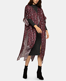 BCBGeneration Kaleidoscope Floral Duster
