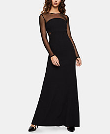 BCBGeneration Illusion Maxi Dress