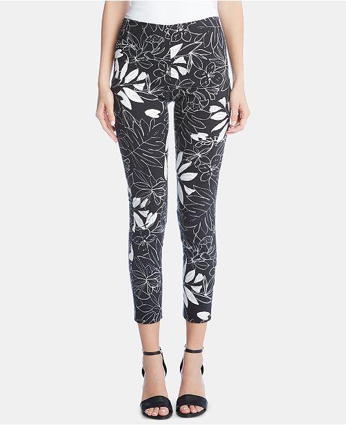 Karen Kane Printed Pull-On Pants